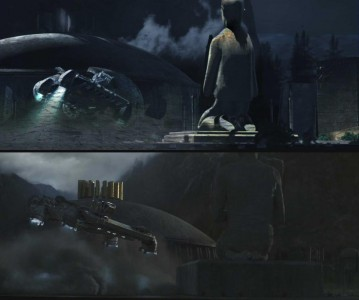 Alien Covenant PreVisualization previs special effects